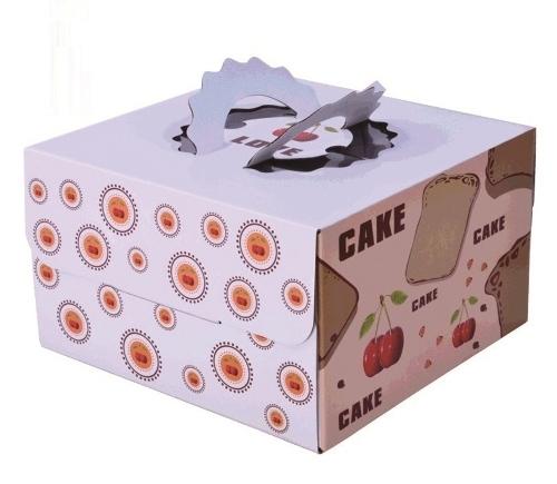 картонная упаковка для кондитерских изделий спб